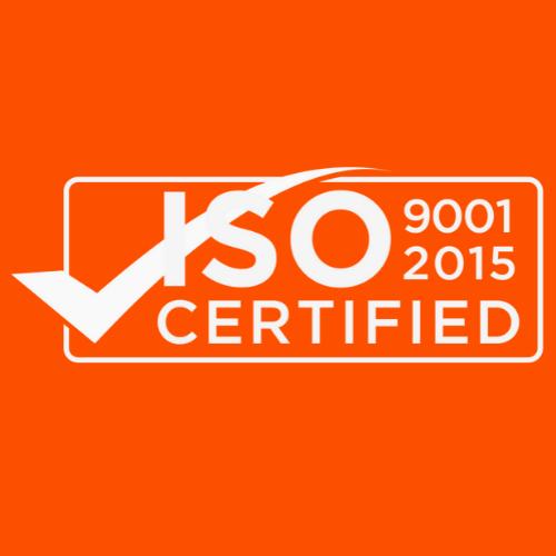 ISO 9001 2015 Orange